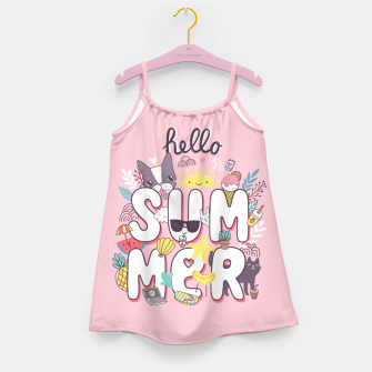 Miniaturka Hello Summer Girl's Dress, Live Heroes