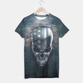 Thumbnail image of American Horror in Metal T-shirt, Live Heroes