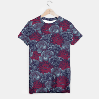 Thumbnail image of Stop and Smell the Roses CRIMSON MOONLIGHT T-shirt, Live Heroes