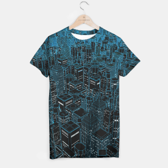 Thumbnail image of Night light city T-shirt, Live Heroes