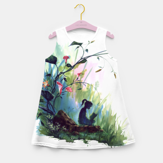 Miniatur girl Girl's Summer Dress, Live Heroes