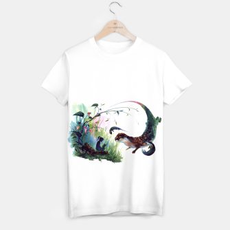 Thumbnail image of girl & otter T-shirt, Live Heroes