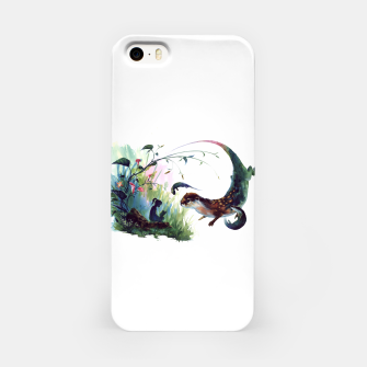 Thumbnail image of girl & otter iPhone Case, Live Heroes