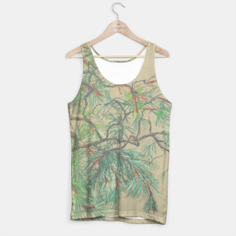 Thumbnail image of Pine-tree branch Tank Top, Live Heroes