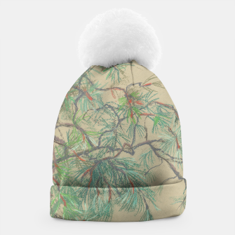 Thumbnail image of Pine-tree branch Beanie, Live Heroes