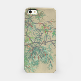 Thumbnail image of Pine-tree branch iPhone Case, Live Heroes