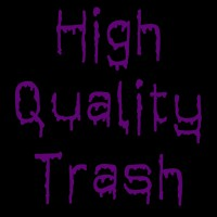 High-Quality Trash logo