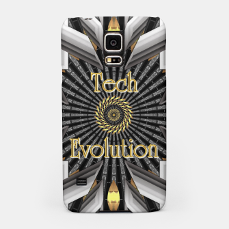 Thumbnail image of Tech Evolution Samsung Case, Live Heroes