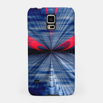 Thumbnail image of Particle Trax Vortex Shadow Cloud Samsung Case, Live Heroes