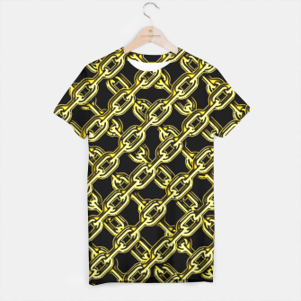 Thumbnail image of Bling Chain T-shirt, Live Heroes