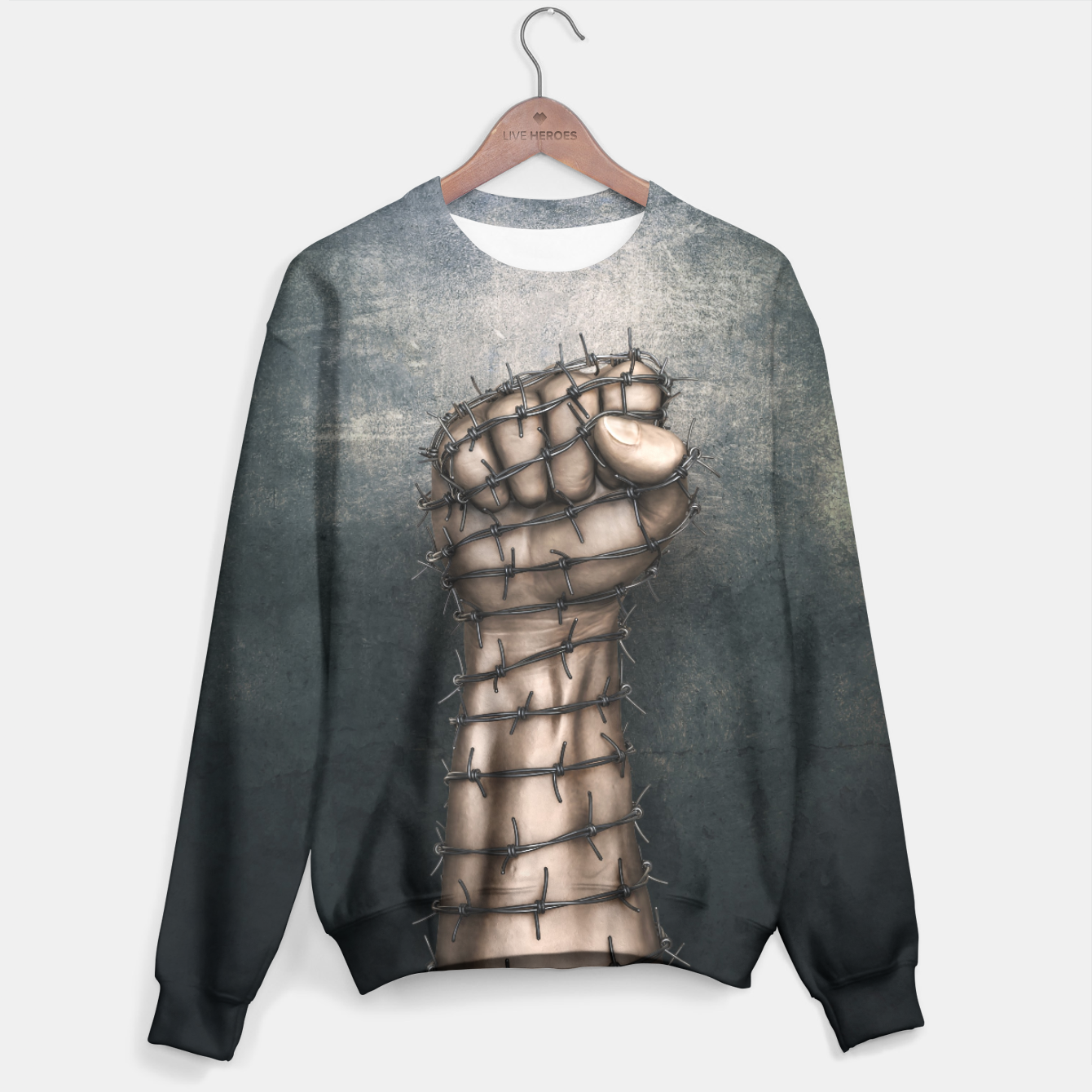 Image of Hard Religion Sweater - Live Heroes