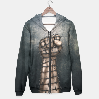 Thumbnail image of Hard Religion Hoodie, Live Heroes