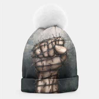 Thumbnail image of Hard Religion Beanie, Live Heroes