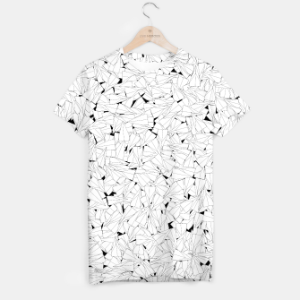 Thumbnail image of Paper planes B&W T-shirt, Live Heroes