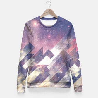 Thumbnail image of The stars are calling me Fitted Waist Sweater, Live Heroes