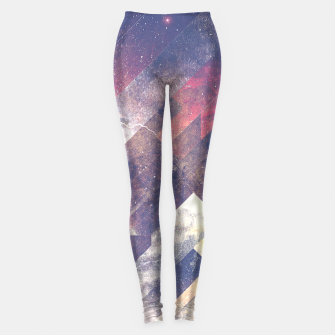 Thumbnail image of The stars are calling me Leggings, Live Heroes
