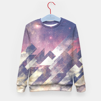 Thumbnail image of The stars are calling me Kid's Sweater, Live Heroes