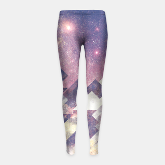 Miniature de image de The stars are calling me Girl's Leggings, Live Heroes