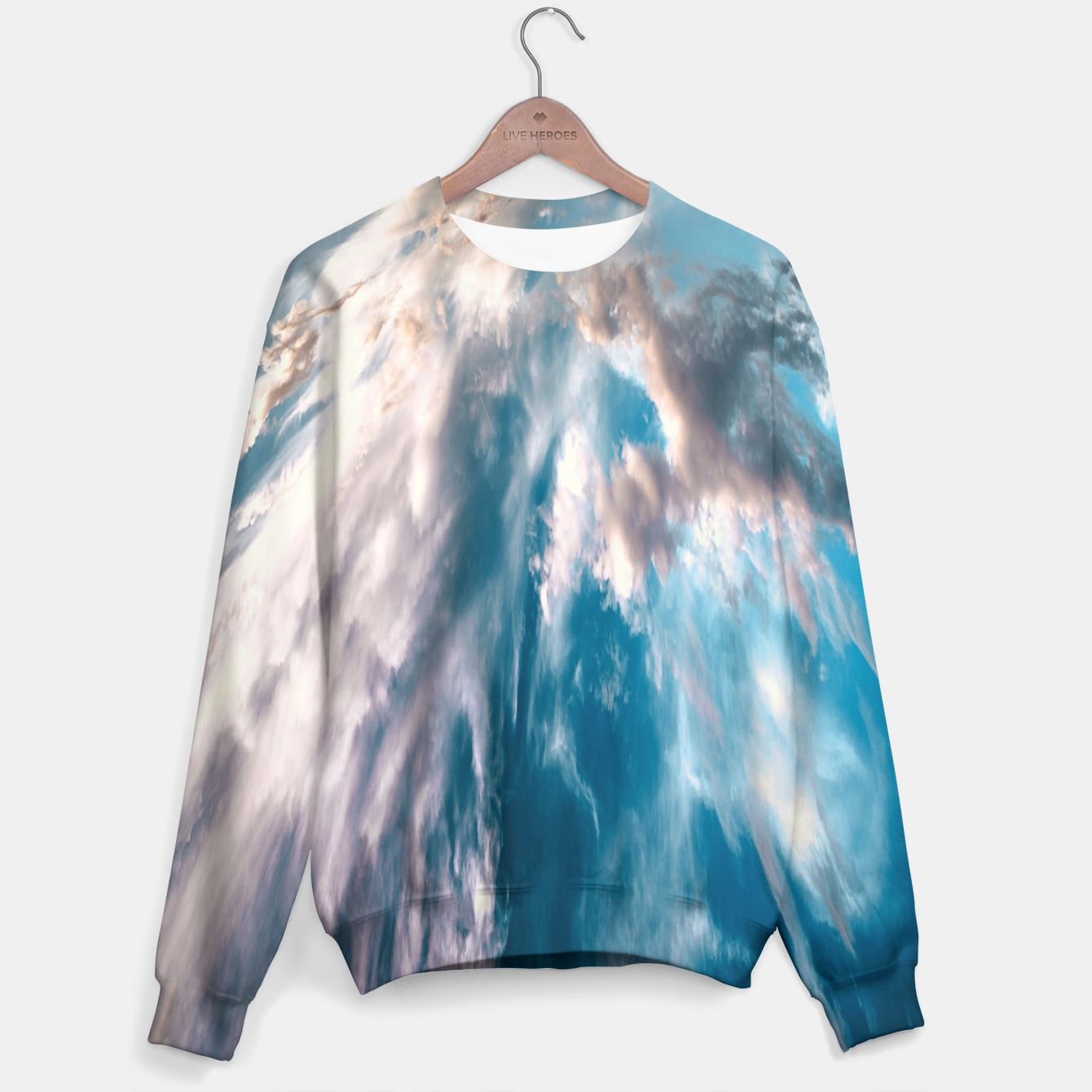 Image of Design Sweater - Live Heroes