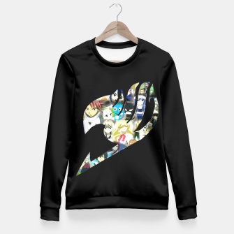 Thumbnail image of Fairy Tail Fitted Waist Sweater, Live Heroes