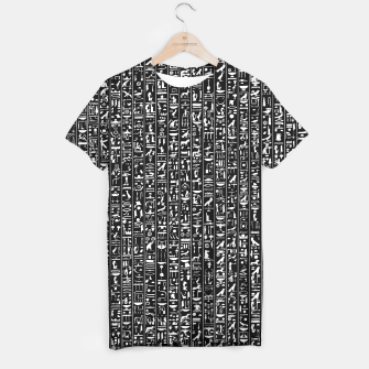 Thumbnail image of Hieroglyphics B&W INVERTED T-shirt, Live Heroes
