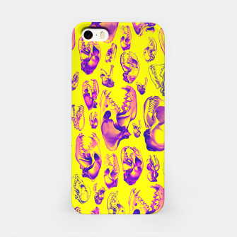 Carnivore HOT PINK & YELLOW iPhone Case Bild der Miniatur