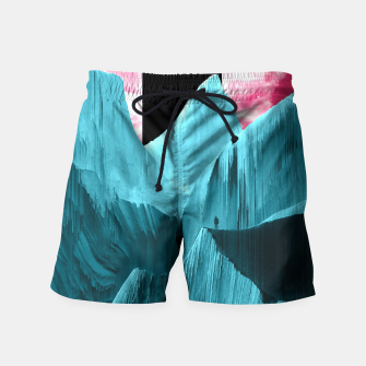 Thumbnail image of Ignorance is trust Swim Shorts, Live Heroes