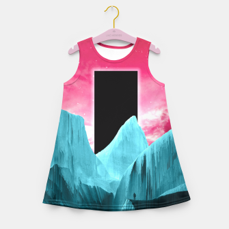 Thumbnail image of Ignorance is trust Girl's Summer Dress, Live Heroes