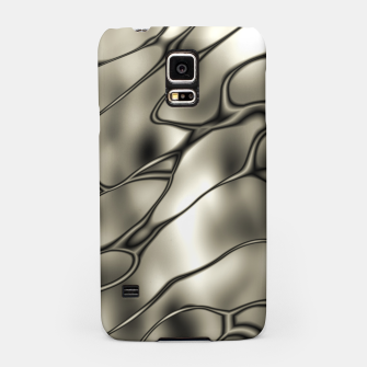 Miniatur Silver Squiggly Samsung Case, Live Heroes