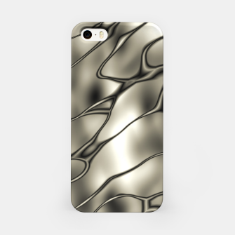Miniatur Silver Squiggly iPhone Case, Live Heroes