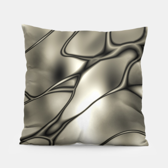 Miniatur Silver Squiggly Pillow, Live Heroes