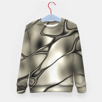 Miniatur Silver Squiggly Kid's Sweater, Live Heroes