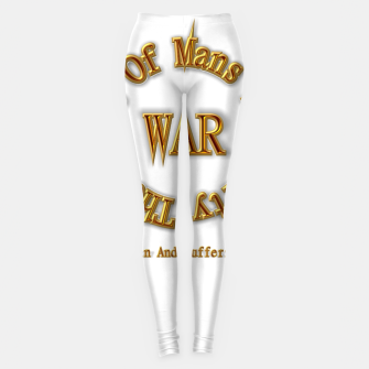 Thumbnail image of WAR - The Chaos Of Mans Stupidity Leggings, Live Heroes