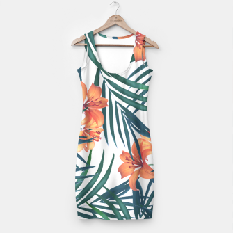 Tropical Lilies Simple Dress thumbnail image