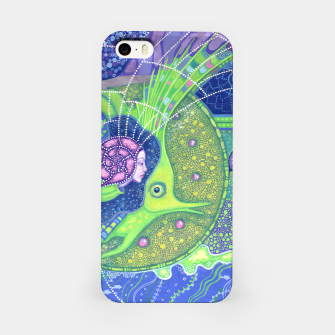 Thumbnail image of Dream of the Full moon, underwater fantasy, surreal art iPhone Case, Live Heroes