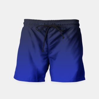 Thumbnail image of Cobalt Blue Ombre Swim Shorts, Live Heroes