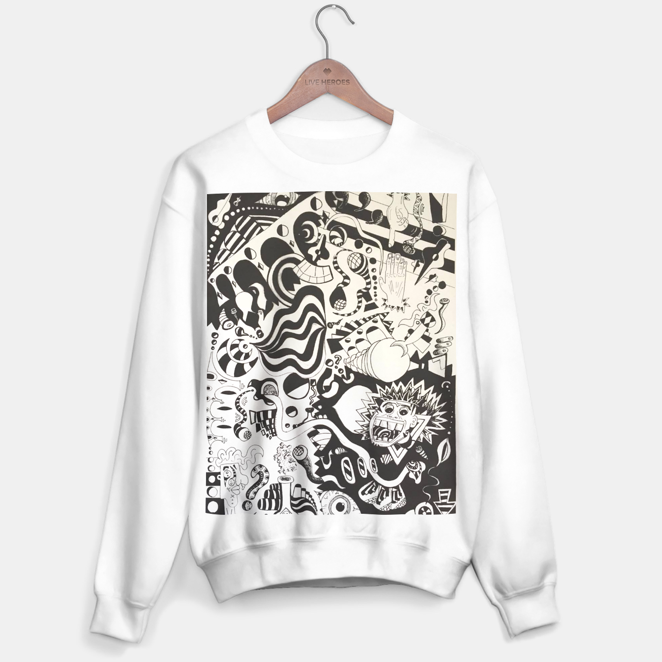 Image of Altered State of Consciousness Design - FF Art Sweater - Live Heroes