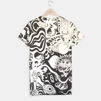 Altered State of Consciousness Design - FF Art T-shirt thumbnail image