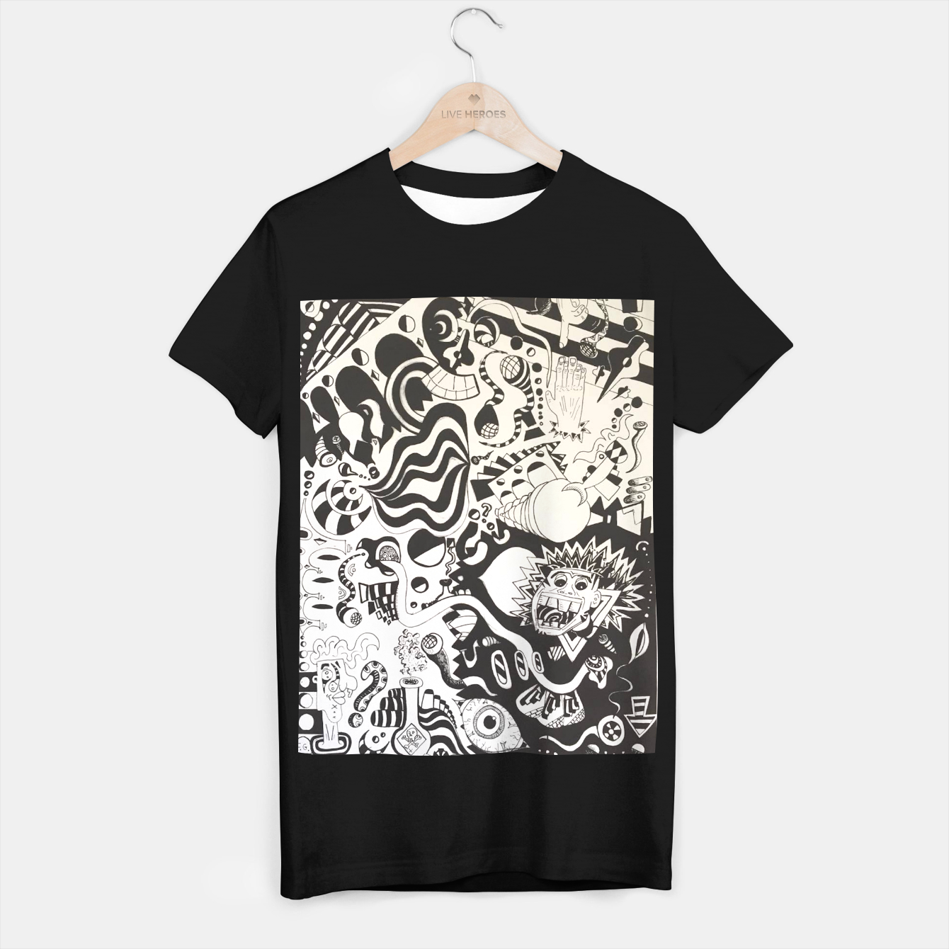 Image of Altered State of Consciousness Design - FF Art T-shirt - Live Heroes