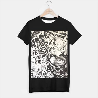 Thumbnail image of Altered State of Consciousness Design - FF Art T-shirt, Live Heroes