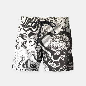 Altered State of Consciousness Design - FF Art Swim Shorts thumbnail image