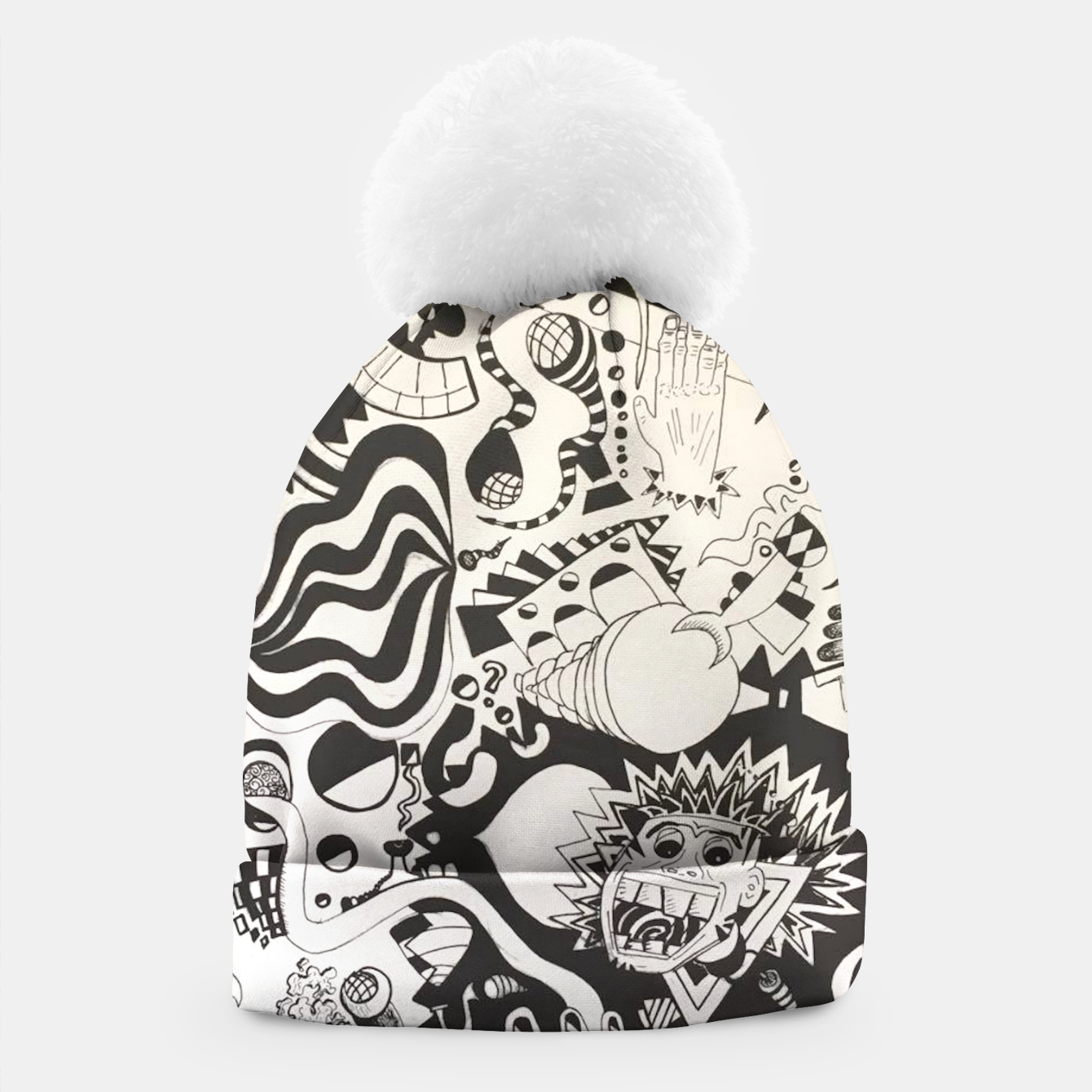 Image of Altered State of Consciousness Design - FF Art Beanie - Live Heroes