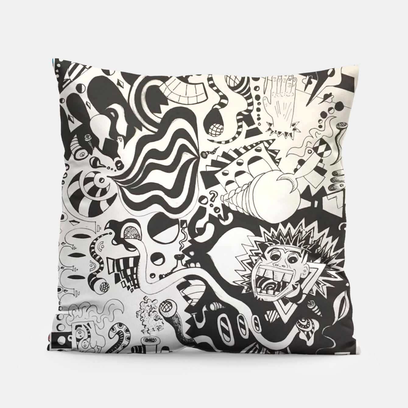 Image of Altered State of Consciousness Design - FF Art Pillow - Live Heroes