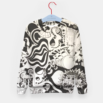 Altered State of Consciousness Design - FF Art Kid's Sweater thumbnail image