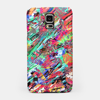 Thumbnail image of Expressive Abstract Grunge Samsung Case, Live Heroes