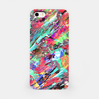 Thumbnail image of Expressive Abstract Grunge iPhone Case, Live Heroes