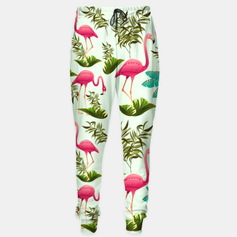 Thumbnail image of Pink Flamingos Exotic Birds Sweatpants, Live Heroes