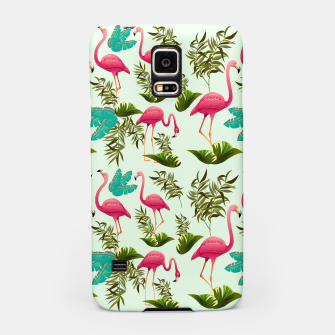 Thumbnail image of Pink Flamingos Exotic Birds Samsung Case, Live Heroes