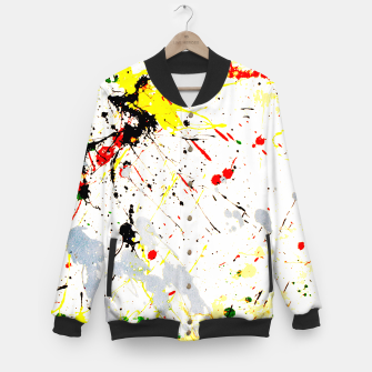 Paint Splatter Baseball Jacket thumbnail image