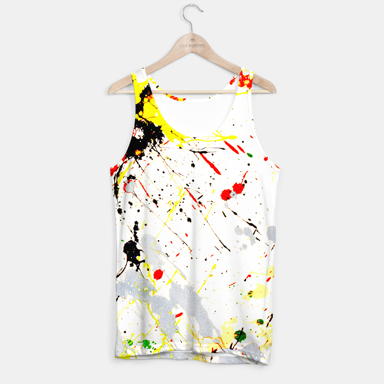 Image of Paint Splatter Tank Top - Live Heroes